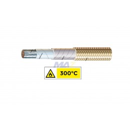 Cable F/V 8AWG 300°C