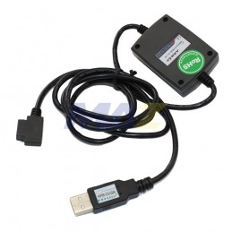 Cable USB PLC con Pantalla