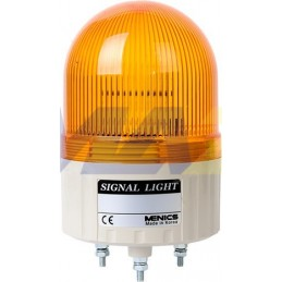 Luz Rotativa 86Mm Amarilla...