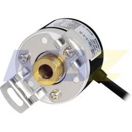 Encoder E40 12-24Dc Dia30Mm Hueco8Mm 100Ppr A-B-Z Totem Pole