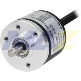 Encoder E30 12-24Dc Dia30Mm Eje4Mm 500Ppr A-B-Z Totem Pole