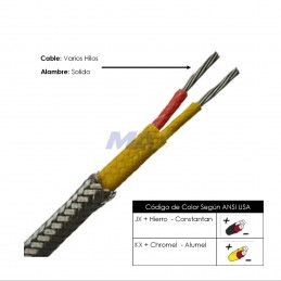 Cable RTD F/V 3X24AWG