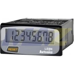 Horimetro Digital 48X24Mm Lcd 8 Dígitos 999999H.9 Batería