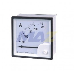 Amperimetro 0-500 Amp 72X72...
