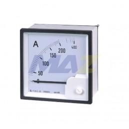 Amperimetro 0-5 Amp 72X72mm...
