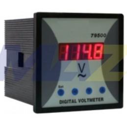Voltímetro 4 Dígitos 10-600...
