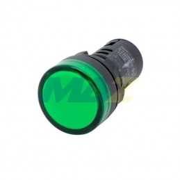 Luz Piloto Led 16Mm 220Vac...