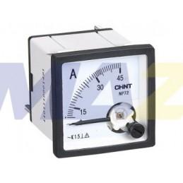 Voltímetro Análogo Para Panel 0 A 300V Ac 72X72Mm