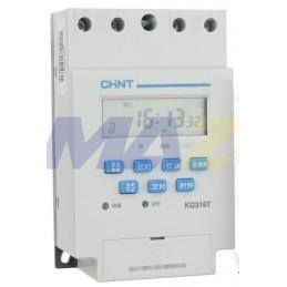 Temporizador Digital Semanal 16Na - 16Nc 240Vac Chint 3A