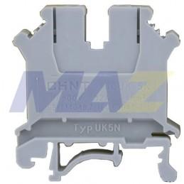 Bornera JCUK sencilla baja  2,5mm2-14AWG 800V 24AMP