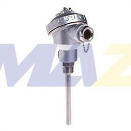 Sensor RTD Cabezal 10cm 650°C